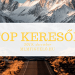 TOP keresők - 2018. december