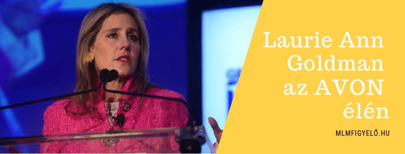 Az Avon új vezérigazgatója Laurie Ann Goldman