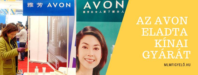Az Avon 44 millió dollárért értékesítette a Kínában található gyártóüzemét