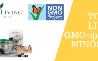 A Young Living Vitality termékcsaládjára megkapja a GMO-mentes minősítést