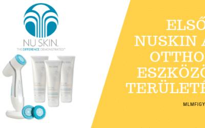 Az Euromonitor adatai alapján a NuSkin lett az első számú Otthoni Szépségápolási Rendszer