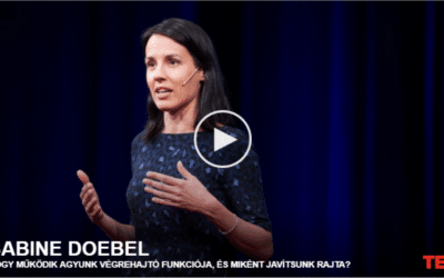 Sabine Doebel   Hogy működik agyunk végrehajtó funkciója, és miként javítsunk rajta?