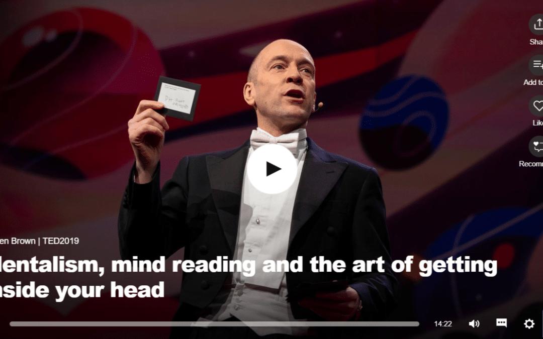 Derren Brown: Mentalizmus, avagy a gondolatolvasás művészete