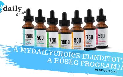 A MyDailyChoice elindította a Hűség Programját