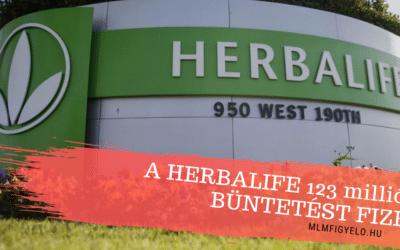 A Herbalife 123 millió dollár büntetést fizet a kínai törvényszegések miatt