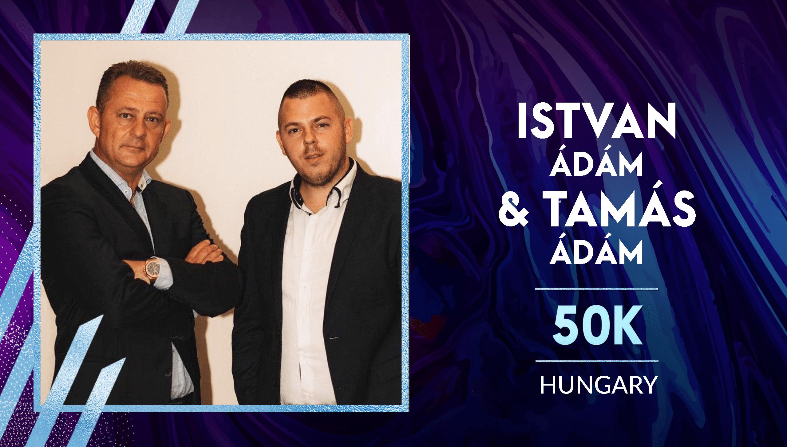 Ádám István és Tamás - 50K