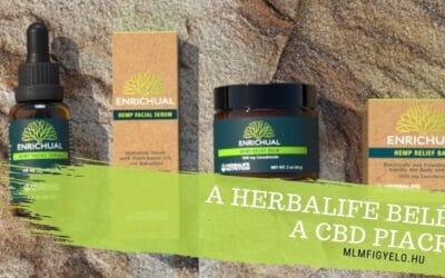 A Herbalife CBD tartalmú termékeket mutatott be