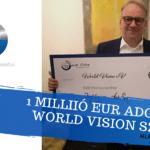 A PM-International több mint 1 millió eurót adományoz a World Vision számára