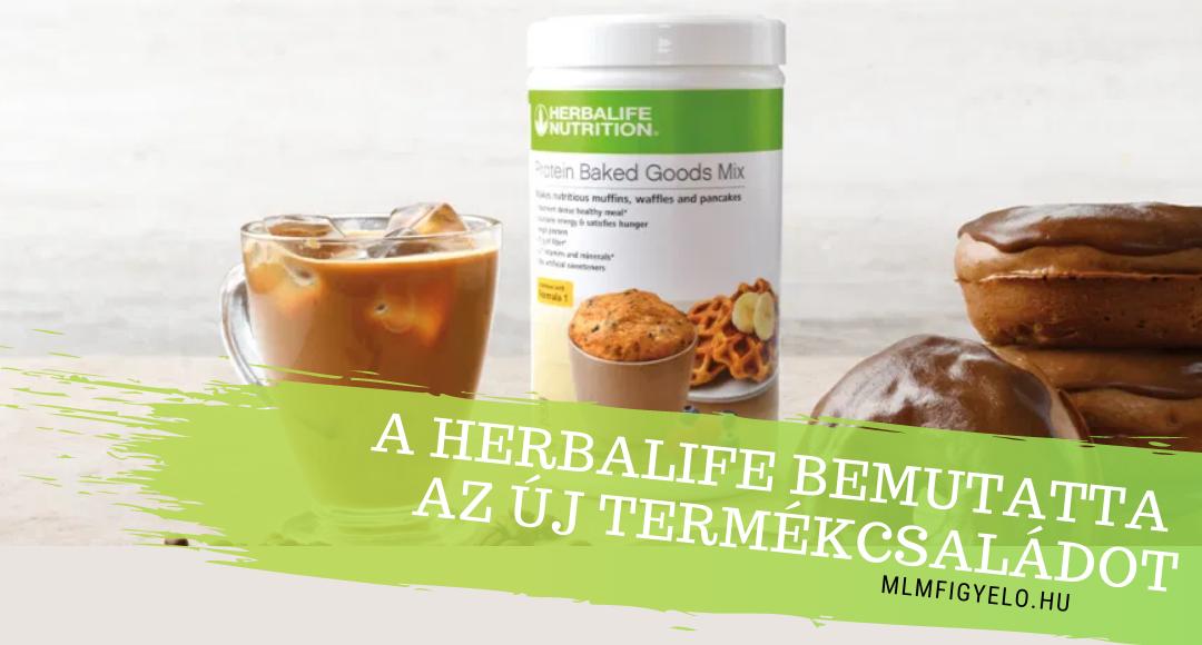 A Herbalife bemutatta a Baked Goods termékcsaládját