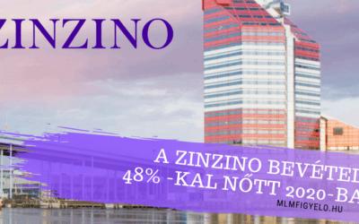 A Zinzino bevétele 48% -kal nőtt 2020-ban