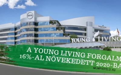 A Young Living bekerült a világ DSN TOP10 legnagyobb cége közé