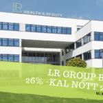 LR Group bevétel 26% -kal nőtt 2020-ban