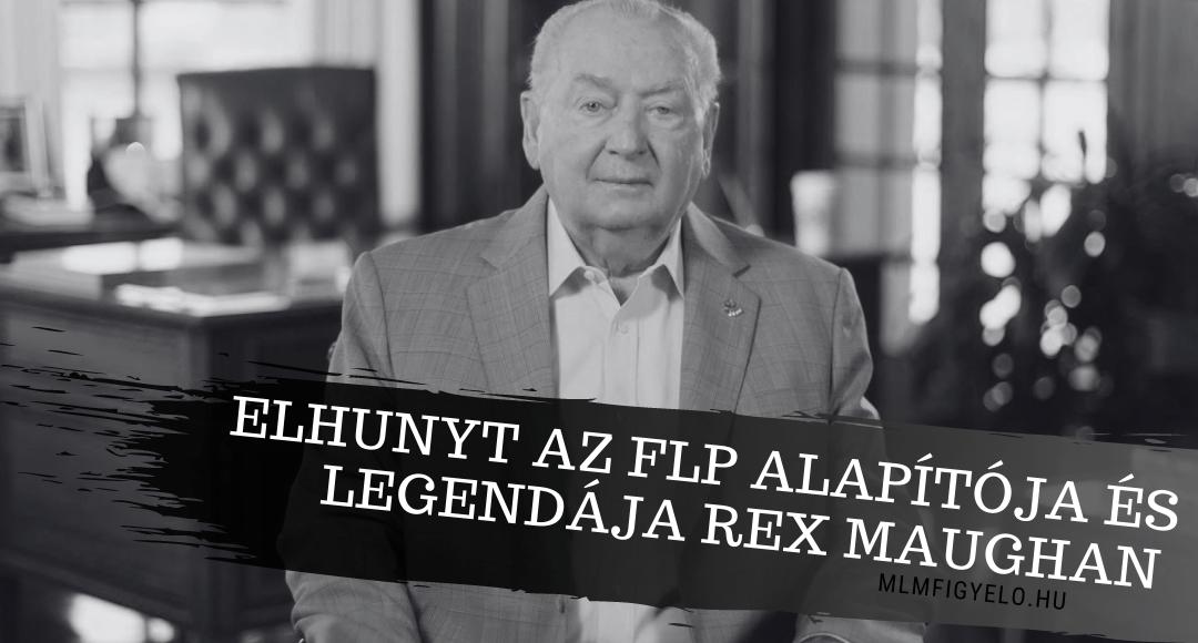 84 éves korában elhunyt az FLP alapítója és legendája Rex Maughan