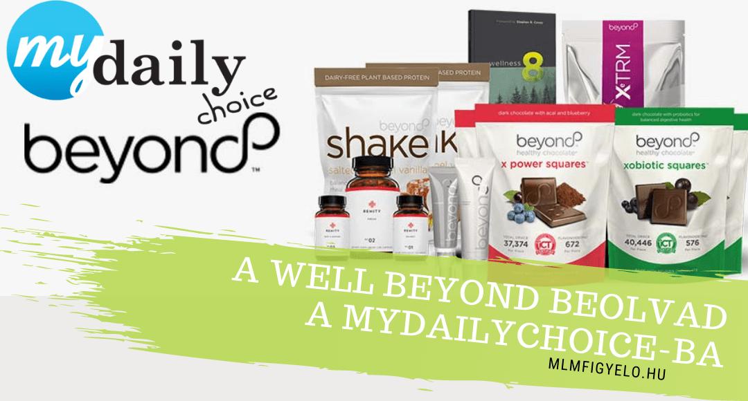 A Well Beyond beolvad a MyDailyChoice-ba